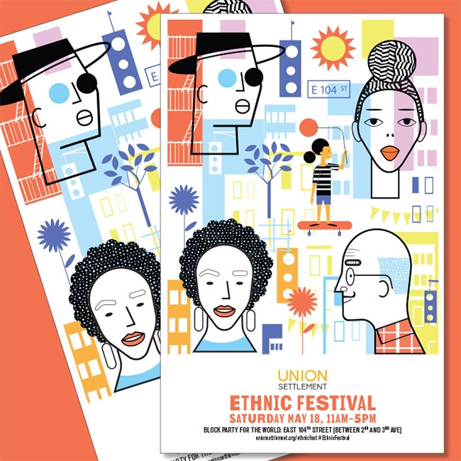 Ethnic Festival-Printed Flyers