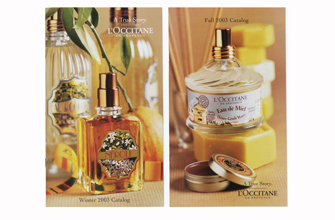 L'Occitane Catalogues