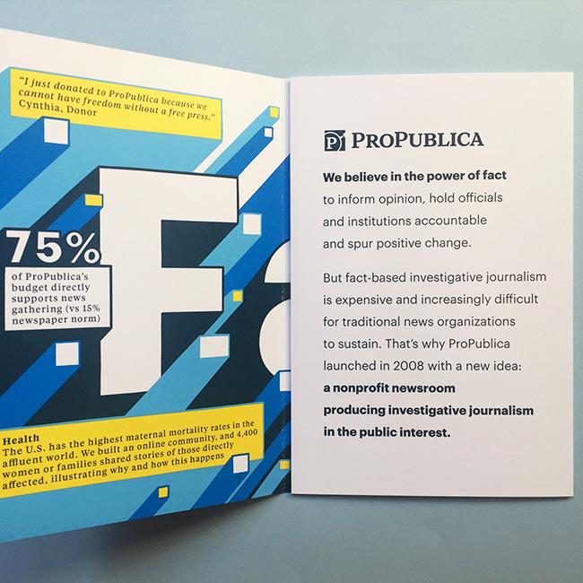 ProPublica Fundraising Campaign