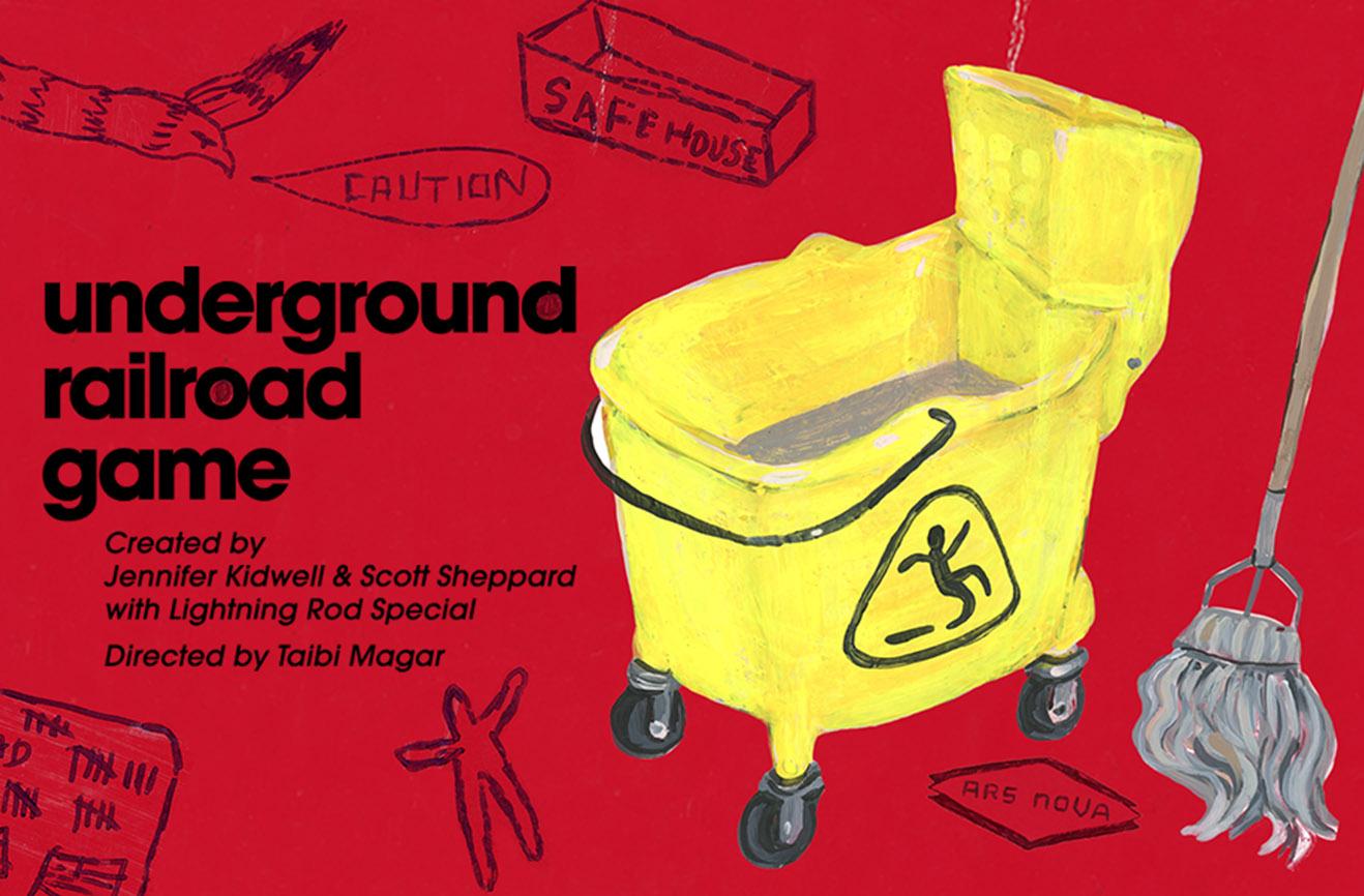 Underground Railroad Game Key Art
